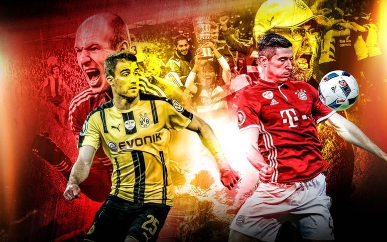 Bayern München gegen Borussia Dortmund ist der deutsche Clasico. Im Pokal kommt es am Mittwoch zum erneuten Aufeinandertreffen in der Allianz Arena. SPORT1 zeigt die packendsten Pokal-Duelle in der Geschichte beider Vereine