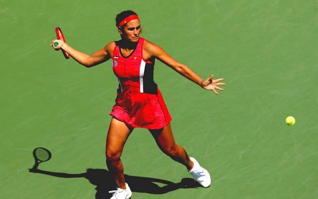 Monica Puig schied bei den US Open in Runde 1 aus.