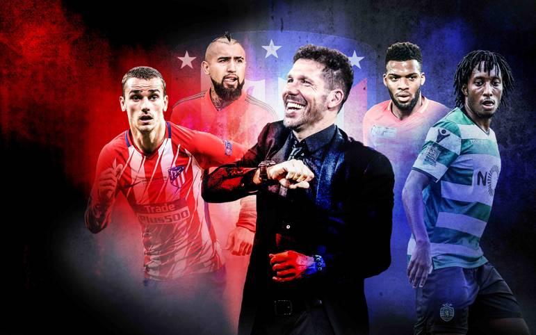 """Am 16. Mai 2018 hatte Diego Simeone gut lachen. Atletico Madrid gewann zum dritten Mal die UEFA Europa League. Der 3:0-Triumph über Olympique Marseille versetzte den Trainer der """"Rojiblancos"""" aber nur für einen Moment in einen Zustand der Zufriedenheit"""