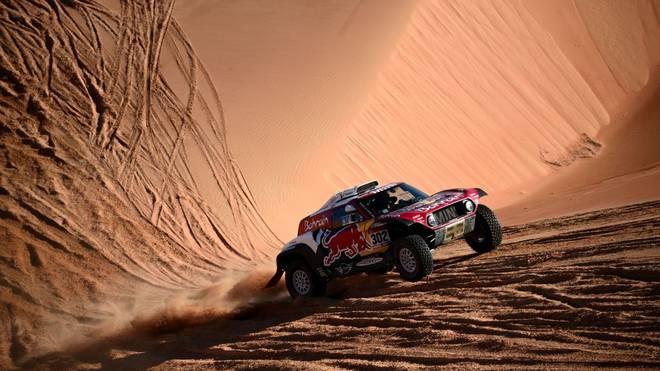 Stephane Peterhansel hat die vorletzte Etappe der Rallye Dakar gewonnen
