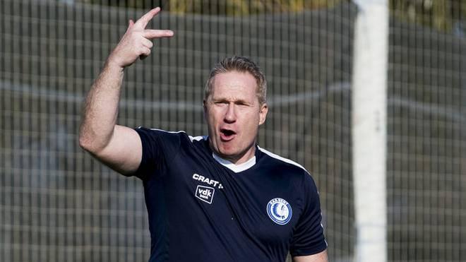 Thomas Gronnemark arbeitet für mehrere Klubs (hier bei KAA Gent)