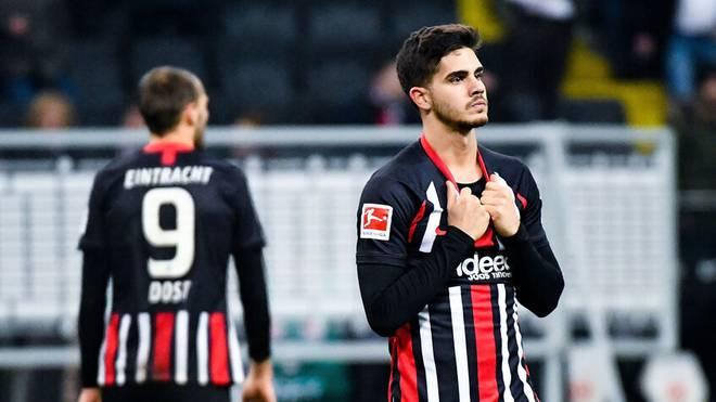 Bas Dost und André Silva sind die einzig verbliebenen Stürmer bei Eintracht Frankfurt