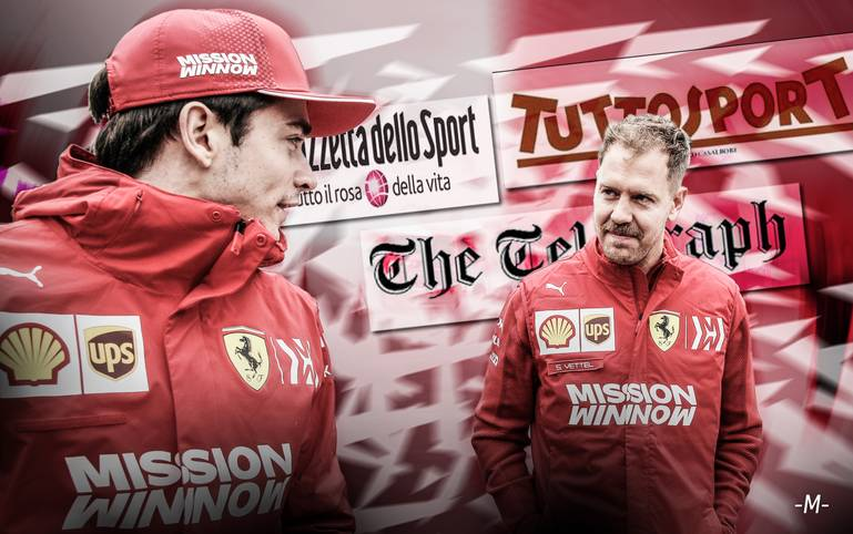 Wie bei den Rennen zuvor enttäuscht Ferrari auch beim Großen Preis von China. Die Gazetten haben mit der Scuderia kein Erbarmen und fordern Charles Leclerc anstelle von Sebastian Vettel als neue Nummer eins. SPORT1 zeigt die internationalen Pressestimmen.