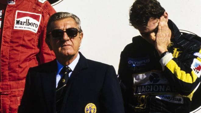 Jean-Michel Balestre wurde Parteilichkeit gegen Ayrton Senna vorgeworfen