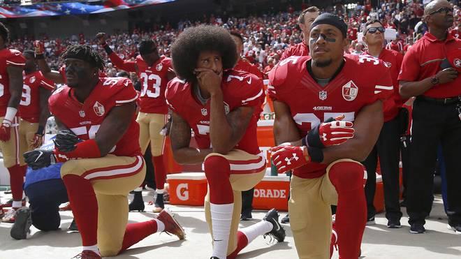 Colin Kaepernick und Eric Reid spielten gemeinsam bei den San Francisco 49ers