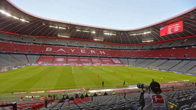 Die Zuschauer müssen draußen bleiben - auch in der Champions League