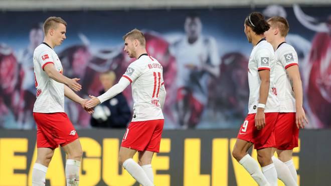 Lukas Klostermann (l.) fällt gegen Frankfurt aus