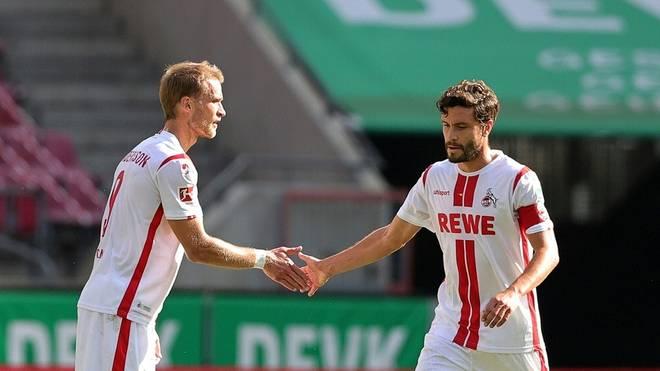 Jonas Hector (r.) könnte gegen Mainz 05 zurückkehren