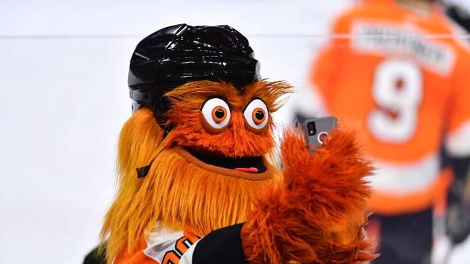 Gritty heißt das Maskottchen der Philadelphia Flyers