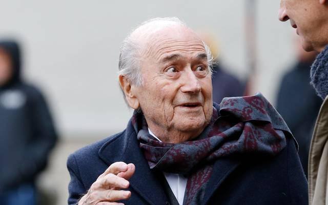 Sepp Blatter war von 1998 bis 2016 FIFA-Präsident