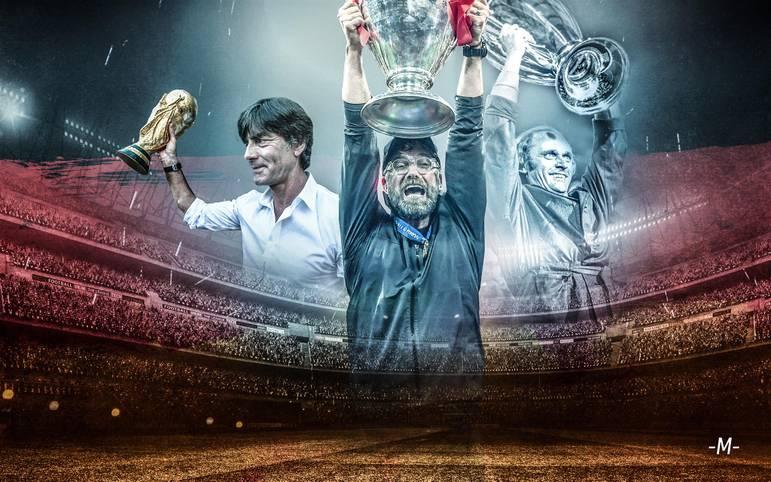 """Im dritten Anlauf hat Jürgen Klopp die Champions League gewonnen, nachdem er zuvor mit dem BVB (2013) und Liverpool (2018) im Finale gescheitert war. Aber wo steht """"Kloppo"""" im Ranking der größten deutschen Trainer aller Zeiten?"""