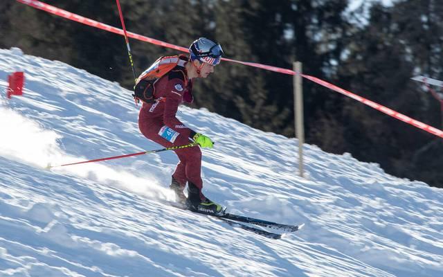Anton Palzer ist auch Skibergsteiger