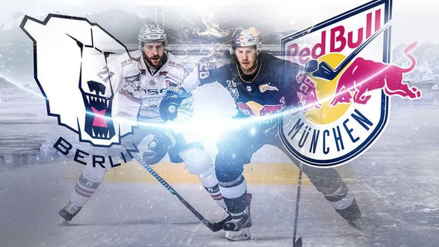 Mit dem EHC Red Bull München (1.) und den Eisbären Berlin (2.) stehen sich erstmals seit 2000 – und insgesamt erst zum zweiten Mal – wieder die beiden besten Mannschaften der Hauptrunde in der Finalserie (Freitag, ab 19.25 Uhr LIVE im TV auf SPORT1) gegenüber