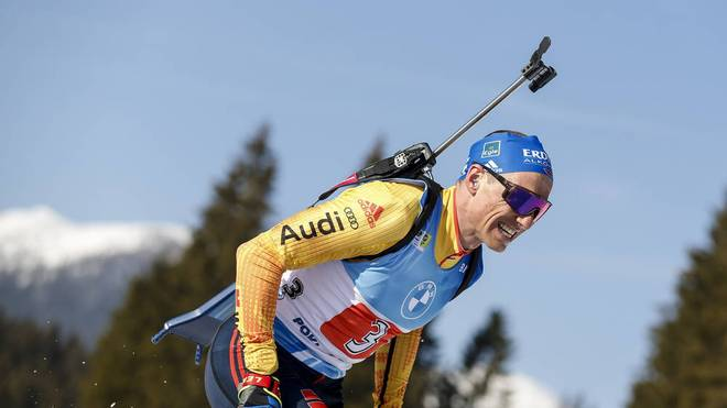 Erik Lesser war bei der Biathlon-WM tragischer Held