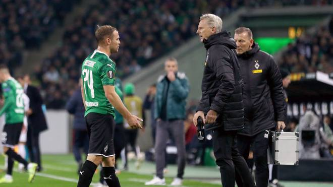 Tony Jantschke musste gegen die AS Rom verletzt vom Platz