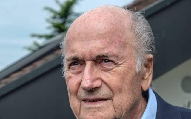 Sepp Blatter war jahrelang eine große Persönlichkeit des Weltfußballs
