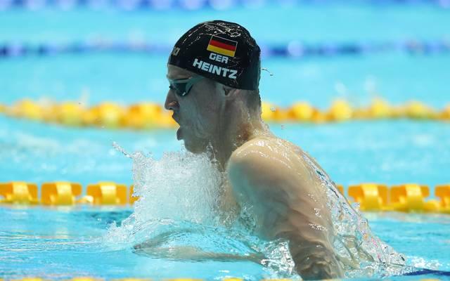 Philip Heintz führt das deutsche Schwimm-Aufgebot bei der Kurzbahn-EM an