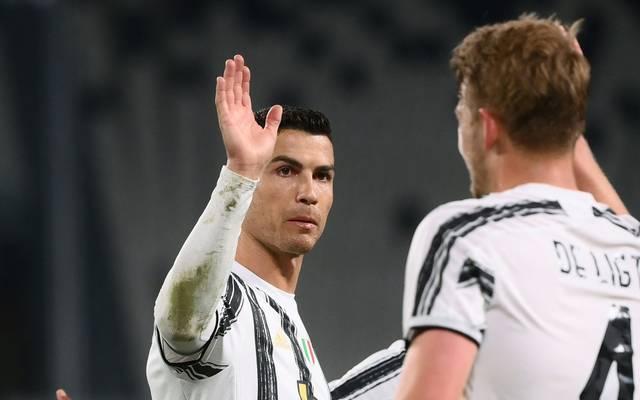 Juventus macht Punkte auf die Mailänder Klubs gut
