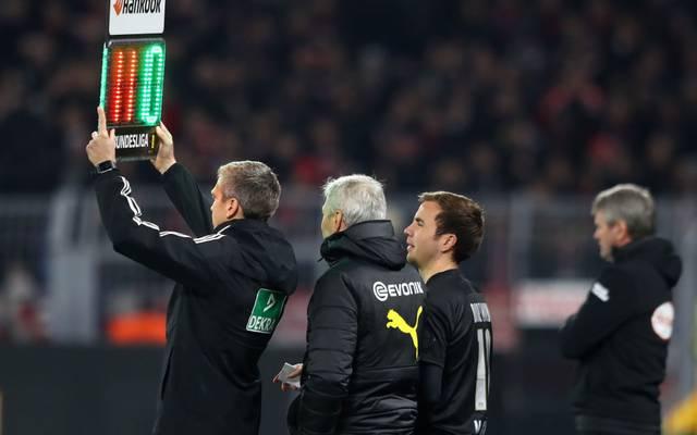 Ab sofort sind bis zu fünf Auswechslungen pro Bundesliga-Spiel möglich