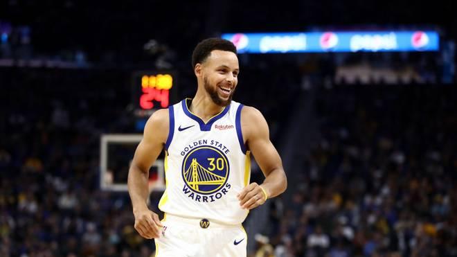 Stephen Curry wird von den Golden State Warriors fürstlich belohnt