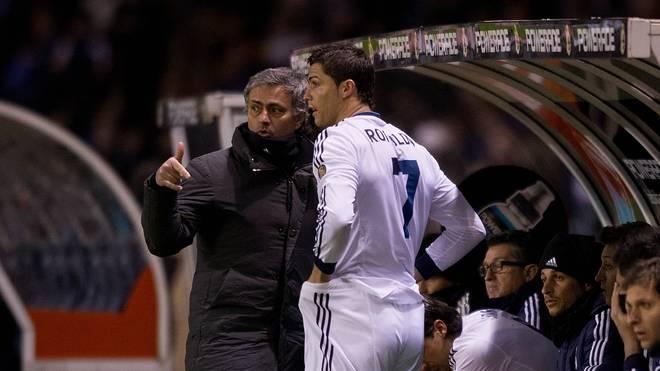 Zwischen Mourinho und Cristiano Ronaldo gab es zu Real-Zeiten einen heftigen Zoff
