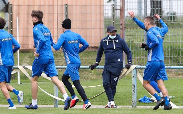 Trainer Claus-Dieter Wollitz und der FCM stehen vor dem Re-Start auf Platz 15 der 3. Liga