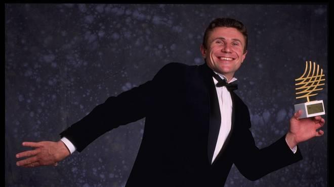 Sergej Bubka bei einer Gala 1994