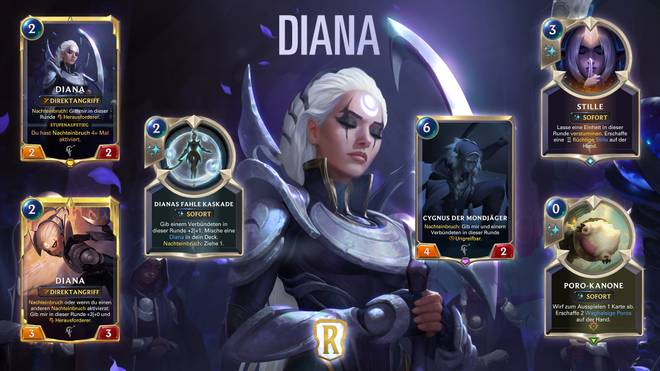 Diana ist die Anführerin der targonischen Lunari-Sekte, die den Mond anbetet