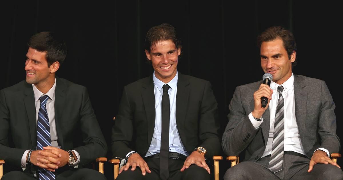 Tennis: Novak Djokovic, Rafael Nadal und Roger Federer in WhatsApp-Gruppe