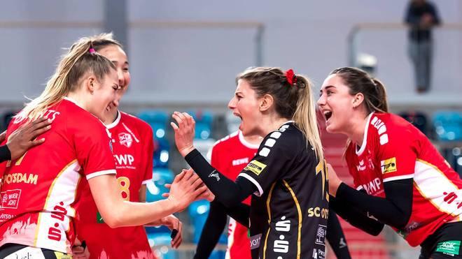 Der SC Potsdam gewinnt klar gegen USC Münster