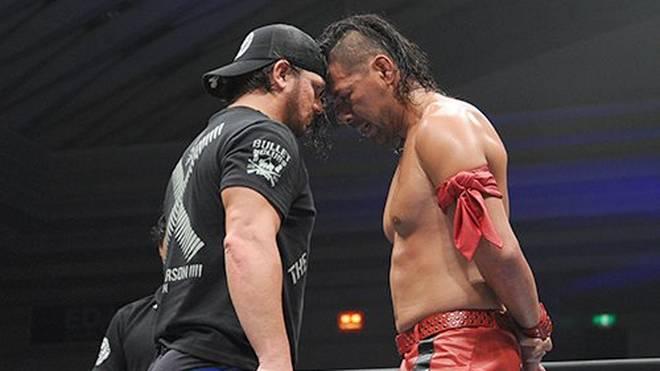 AJ Styles und Shinsuke Nakamura bei NJPW in Japan