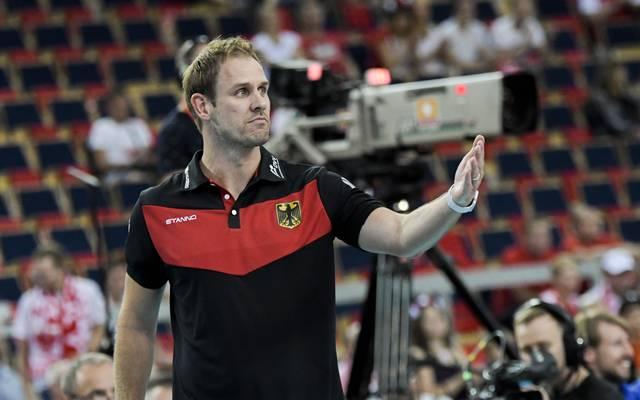Felix Koslowski ist Bundestrainer der deutschen Volleyball-Frauen