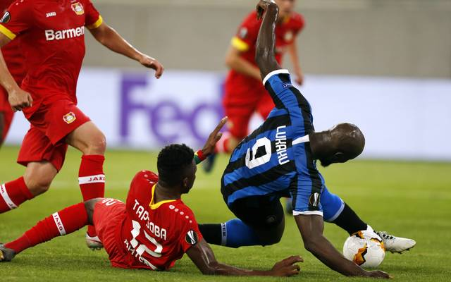 Romelu Lukaku erzielte im Fallen das 2:0