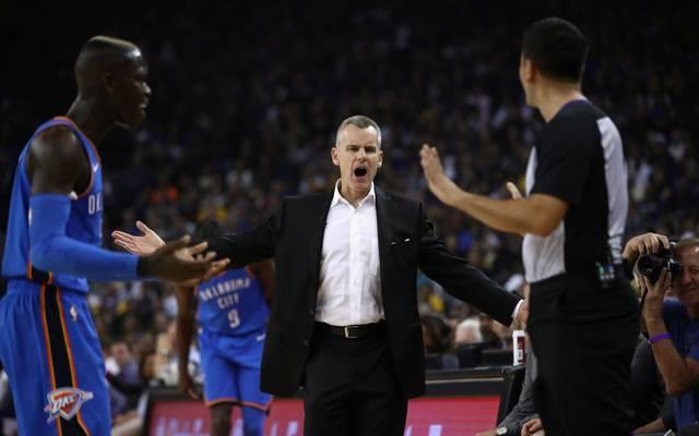Billy Donovan, Ex-Coach von Dennis Schröder, ist der neue Coach der Chicago Bulls.