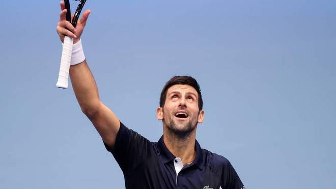 Novak Djokovic verlor 2020 das Finale der French Open gegen Rafael Nadal