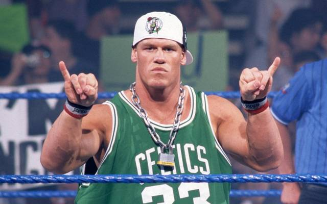 "John Cena 2003 in seiner Rolle als ""Doctor of Thuganomics"""