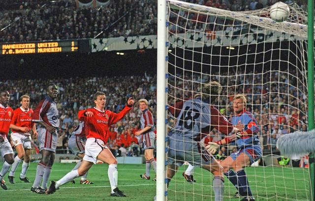 Ole Gunnar Solskjaer schockte den FC Bayern im Champions-League-Finale 1999