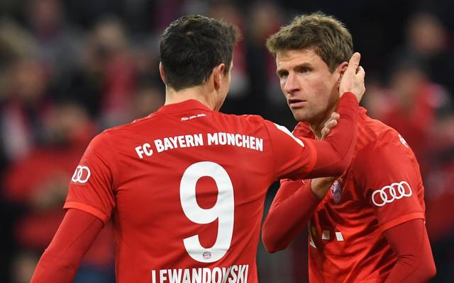 Thomas Müller und Robert Lewandowski geben ihr Comeback nach einem Spiel Sperre