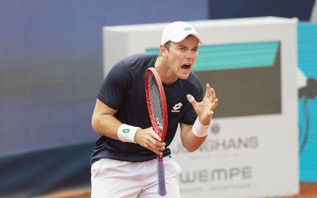 Dominik Koepfer unterlag Jan-Lennard Struff in drei Sätzen