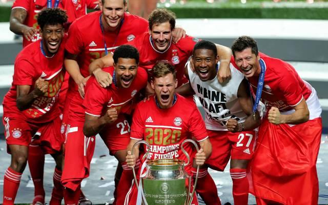 Der FC Bayern München konnte in der Spielzeit 2019/20 das Triple feiern