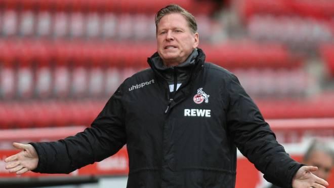 Markus Gisdol hat beim 1. FC Köln keine Jobgarantie
