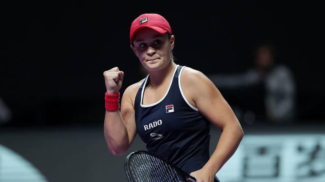 Ashleigh Barty gewann ihr erstes Gruppenspiel gegen Belinda Bencic