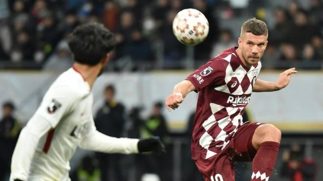 Lukas Podolski denkt noch nicht ans Karriereende