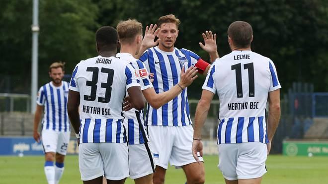 Hertha BSC ist siegreich in die Saison-Vorbereitung gestartet
