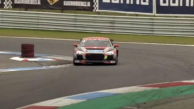 Maximilian Paul siegte beim Audi Seyffarth R8 LMS Cup in Assen