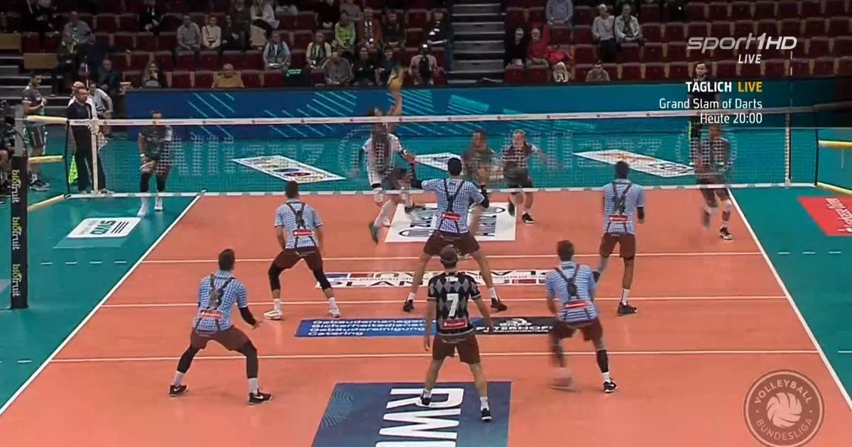 Volleyball, Bundesliga: Herrsching schlägt Düren 3:0 - SPORT1