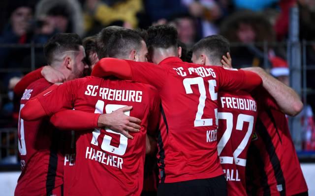 Der SC Freiburg siegt dank eines späten Treffers gegen den VfL Wolfsburg