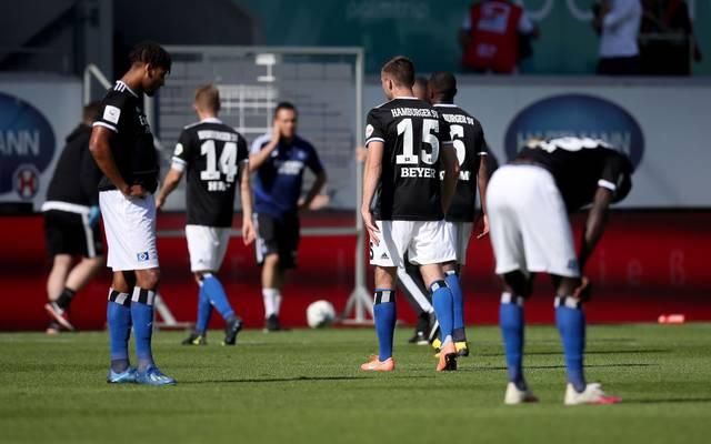 Der Hamburger SV verliert in letzter Sekunde beim 1. FC Heidenheim