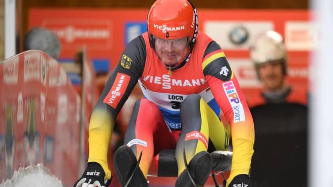 Felix Loch landete beim Sprint in Sotschi weit hinten