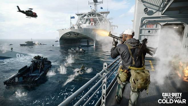 Bei Cold War spielt sich das Geschehen inzwischen auch auf dem Wasser ab. Nun sollen noch mehr Maps erscheinen